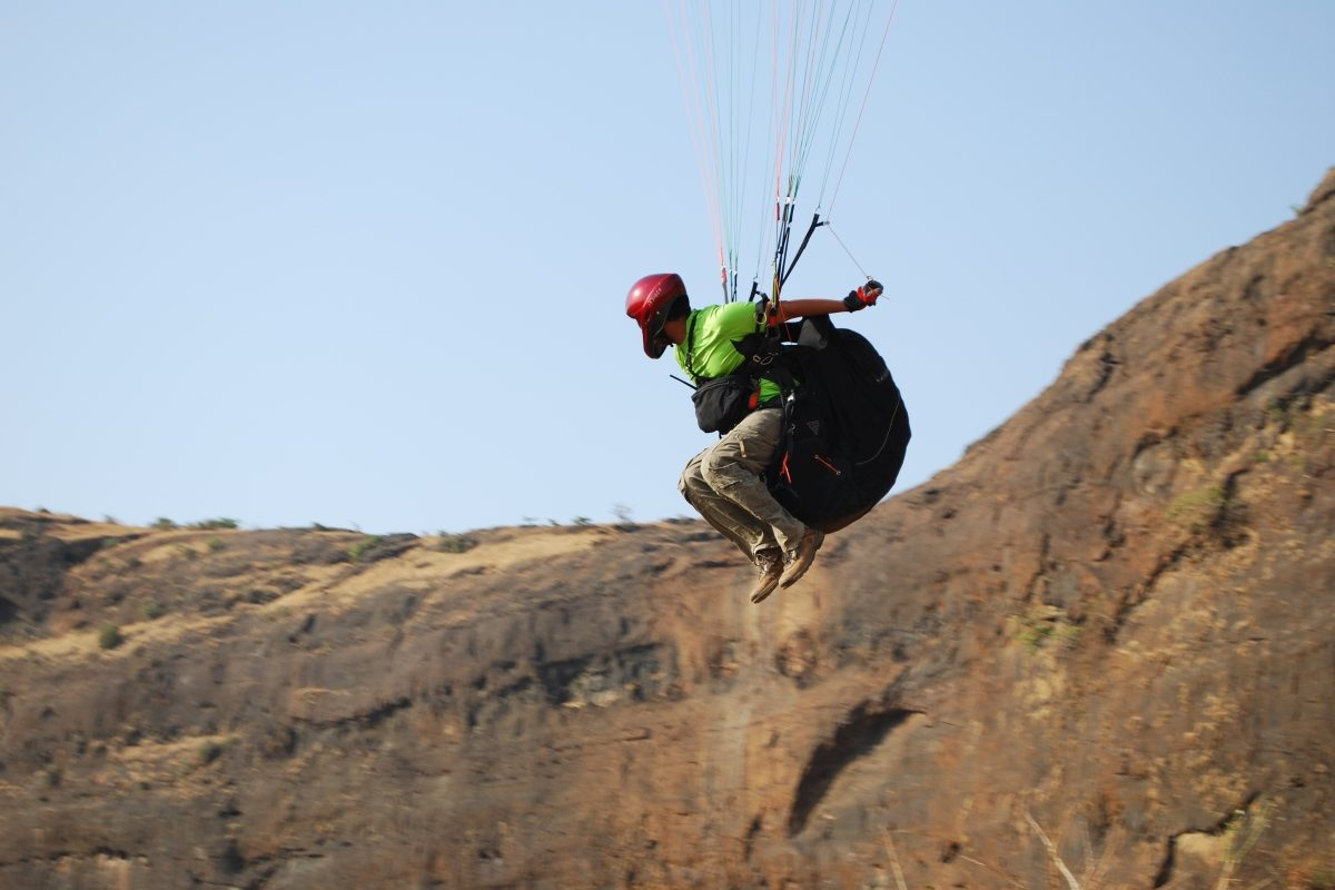 Paragliding in India with Sanjay Pendurkar